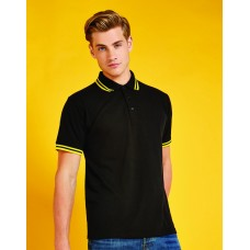 Kustom Kit KK409 Classic Fit Tipped Collar Polo
