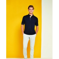 Kustom Kit KK449 Classic Fit Button Down Contrast Polo
