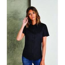 Kustom Kit KK728 Ladies Workforce Poplin Short Sleeve Shirt