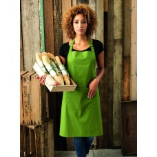PR154 Premier Colours Bib Apron With Pockets
