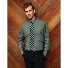 Premier  PR200 Poplin Long Sleeve Shirt