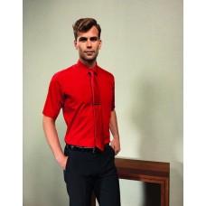 Premier  PR202 Poplin Short Sleeve Shirt