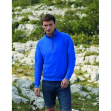 Fruit of the Loom SS29M Zip Neck Sweatshirt