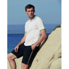 Fruit of the Loom SS34M Premium Tipped Polo