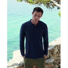 Fruit of the Loom SS37M Premium Long Sleeve Polo Shirt