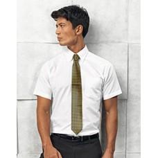 Premier  PR236  Signature Oxford Mens Short Sleeve Shirt