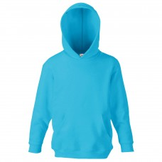 SS26B Kids Classic 80/20 Hooded Sweat / Azure Blue