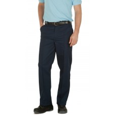 TR10 Harvey's Polycotton Drivers Trousers / Navy