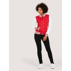 Uneek UC526 Ladies' Varsity Jacket