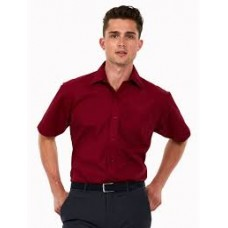 UC710 Uneek Mens Poplin Half Sleeve Shirt - Customise