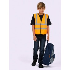 UC806 Kids Hi Visibility Waistcoat