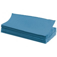 P6001 1 Ply C-Fold Paper Hand Towels Blue