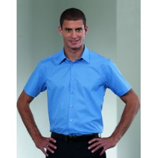 925M Short Sleeve Polycotton Tailored Shirt