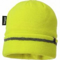 B023 Reflective Trim Knit Hat Insulatex Lined