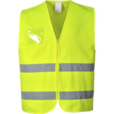 C497 Hi-Vis Polycotton Vest