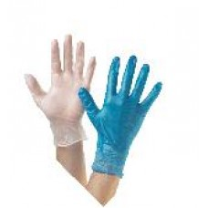 A915 Disposable Natural Latex Gloves P/F (Box/100)