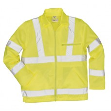 E040 Portwest Hi-Vis Poly-Cotton Jacket