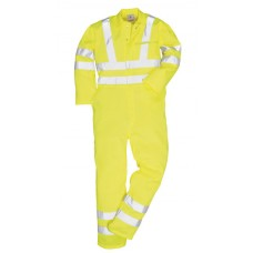 E042 Hi-Vis Poly-Cotton Coverall