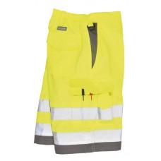 E043 Hi Vis Poly-Cotton Shorts