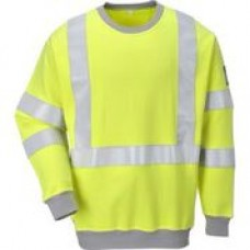 FR72 FR Anti Static Hi-Vis Sweatshirt