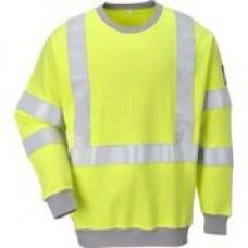 FR72 FR Anti Static Hi-Vis Sweatshirt - Customise