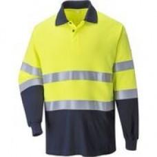 FR74 FR Anti-Static Two Tone Polo Shirt - Customise