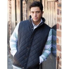 FR903 Mens Diamond Quilt Gilet