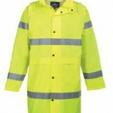H442 Portwest Hi-Vis Rain Coat