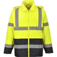 H443 Hi-Vis Classic Contrast Rain Jacket