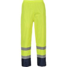 H444 Hi-Vis Classic Contrast Rain Trousers