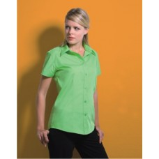 KK728 Ladies Workforce Poplin Short Sleeve Shirt