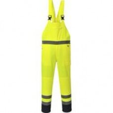 PJ52 Hi-Vis Contrast Bib and Brace - Unlined