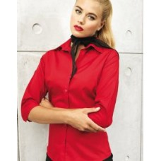 PR305 Poplin Blouse 3/4 Sleeved