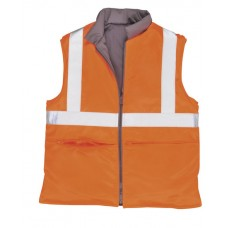 Portwest RT44 Hi-Vis Reversible Bodywarmer RIS