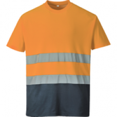 S173 Two-Tone Cotton Comfort T-shirt