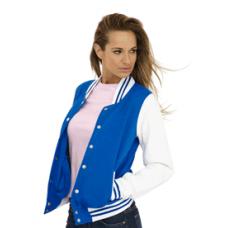 UC526 Ladies' Varsity Jacket