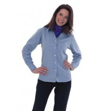 UC703 Ladies Pinpoint Oxford Long Sleeved Shirt