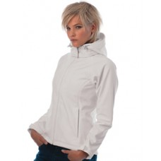 BA630F Ladies Hooded Softshell Jacket