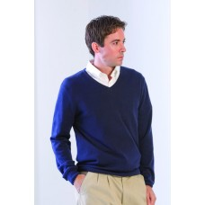 H720 Henbury Mens Lightweight V-Neck Jumper