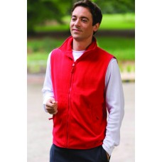 H855 Henbury Sleeveless Micro Fleece Jacket
