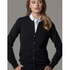 Kustom Kit KK355 Ladies Arundel Crew Neck Long Sleeved Cardigan