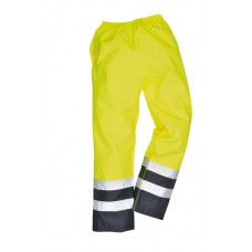 S486 Portwest Hi-Vis Two Tone Traffic Trousers