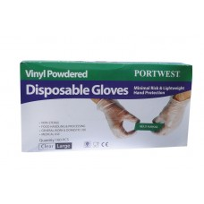 A900 Powdered Vinyl Disposable Glove (Box of 100)