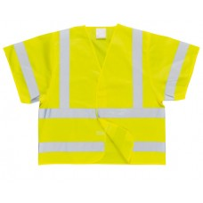 C471 Hi-Vis Short Sleeved Vest