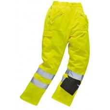E061 Hi-Vis Action Trousers