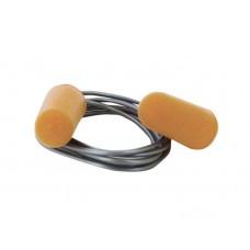 EP08 Corded PU Foam Ear Plug (Box of 200 pairs)