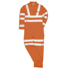 RT42 Hi-Vis Poly-Cotton Coverall GO/RT