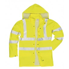 S491 Portwest Hi-Vis Sealtex Ultra Unlined Jacket (Yellow)