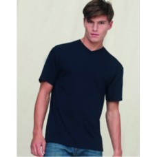 SS20M Fruit of the Loom Valueweight V-Neck T-Shirt