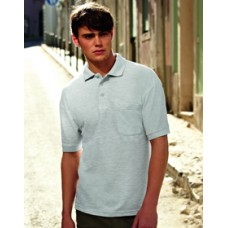 SS36M Fruit of the Loom 65/35 Pocket Polo Shirt